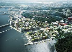 Copenhagen-based Adept will work closely with Stockholm-based Mandaworks to create 2,000 homes and 70,000 square metres of commercial space as part of the 20-year redevelopment of Stockholm's main industrial harbour. Formerly a gasworks, the 236-hectare site is due to be transformed into a major new city quarter by 2030.