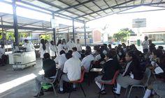 Estudiantes del #P10SantaRosa30 del #Cobaem_Morelos realizaron Prácticas Experimentales en Secundaria Emigdio Marmolejo León. #juventudcultayproductiva