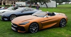 BMW Z4 and Series 8 Concepts