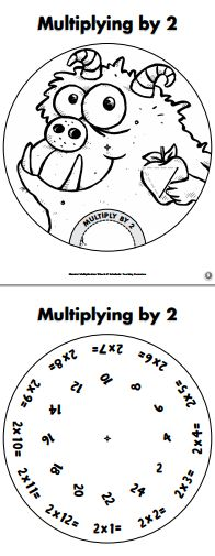Mutliplication Wheels, Times Table Certificates and more!