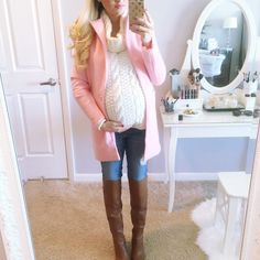 A Spoonful of Style Fall Maternity, Stylish Maternity, Maternity Fashion, Maternity Style, Baby Bump Style, Mommy Style, Pregnancy Looks, Pregnancy Outfits, Pregnancy Clothes
