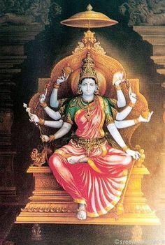 Painting by Shilpi Sri Siddalingaswamy of Mysuru by sreenivasarao s Mysore Painting, Tanjore Painting, Durga Painting, Indian Gods, Indian Art, Saraswati Goddess, Kali Goddess, Hindu Deities, Hinduism