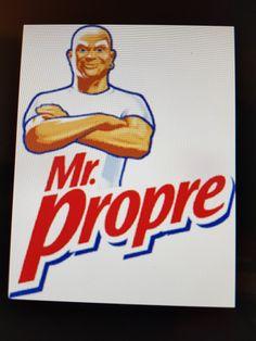 Humour Présidentielle 2017: Voter pour Mr Propre