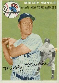 Baseball Star, Sports Baseball, Baseball Players, Damn Yankees, New York Yankees, Virtual Card, The Mick, Baseball Pictures, Mickey Mantle