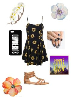 """""""Summer lovein"""" by katt-is-a-unicorn ❤ liked on Polyvore featuring maurices, alfa.K, Forever 21, DENY Designs, women's clothing, women, female, woman, misses and juniors"""