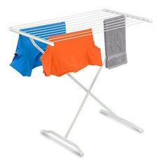 Clothes Drying Rack Folding Fold Out Sweater Laundry Space Saver Delicates #HoneyCanDo