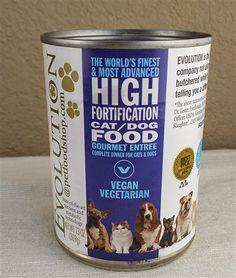 Evolution Diet Vegan Cat/Dog Food Cans - Gourmet Entree Raw Food Recipes, Diet Recipes, Diet Meals, Diet Foods, Vegan Foods, Food Tips, Foods Bad For Dogs, Food Dog, Cat Food