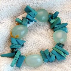 armband_01_002 Beaded Bracelets, Jewelry, Fashion, Semi Precious Beads, Handmade, Wristlets, Schmuck, Gifts, Moda