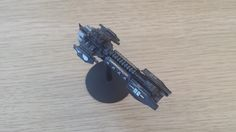 My first try Grey Knight Strike Cruiser as Inquisition Ship