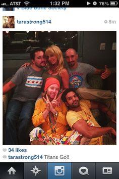 Greg Cipes, Tara Strong, Scott Menville, Khary Payton