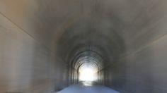 Going through the Tunnel at the Kouga Dam Going through the Tunnel at the Kouga Dam, South Africa.