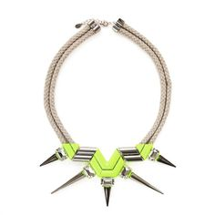 Noir Double Rope Highlight Necklace