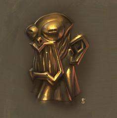 50 Gold, Arthur Gimaldinov on ArtStation at https://www.artstation.com/artwork/WPbk3