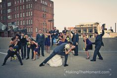 Fun wedding party pics are my favorite