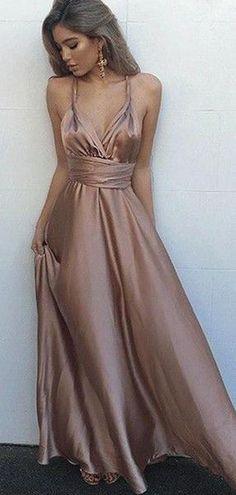 Blush Prom Dress, Straps Prom Dresses, V Neck Prom Dresses, Prom Dresses 2017, Cheap Prom Dresses, Prom Party Dresses, Ball Dresses, Ball Gowns, Evening Dresses