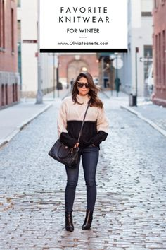 92ebcd3fb0789 Favorite Knitwear for Winter | knitwear | sweater | cold weather outfits |  winter fashion