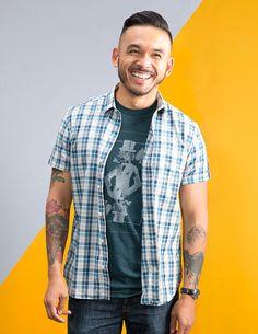 Shirt for Men Made in USA, Dachshund Tee