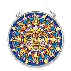 Stained Glass Sun | Mosaic Sun