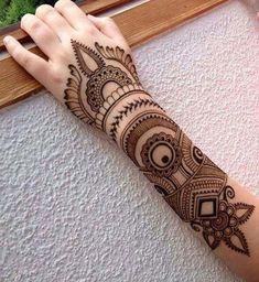 Stylish Henna Mehndi Designs for Hand - Kurti Blouse Dulhan Mehndi Designs, Mehandi Designs, Mehndi Designs 2018, Modern Mehndi Designs, Mehndi Design Pictures, Mehndi Designs For Girls, Beautiful Mehndi Design, Bridal Mehndi Designs, Bridal Henna