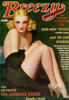 1936 Breezy Stories.  I didnt know there was a breezy magazine!!