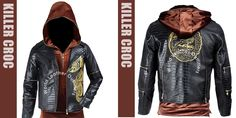 "Amazing Offer for Suicide Squad Followers. ""Arzantro"" Introduce Suicide Squad Killer Croc Jacket for Boys. Adewale Akinnuoye Agbaje Worn This Stylish Jacket in Movie Suicide Squad as Killer Croc. Made from Real Leather You Can Get Easily from Our Online Store. Now Look to Great!!   #movies #fashion #halloween #leatherjacket #awesome #boyfriend #clubs #concerts #winterfashion #bikers #handsome #gifs #casual #onlineshopping"