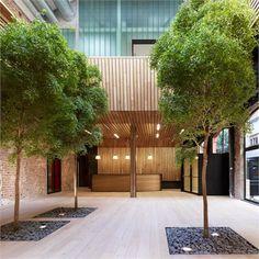 Botín Foundation - Nueva sede de la Fundación Botín - Madrid, Spain - 2012 - MVN arquitectos #architecture #terrace #outdoor