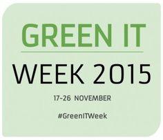 Green IT Week 2015: het grootste evenement over duurzaamheid en ICT - http://cloudworks.nu/2015/11/11/green-it-week-2015-het-grootste-evenement-over-duurzaamheid-en-ict/