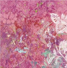 Jubilee 12x12 Pink and Purple Foil Paper