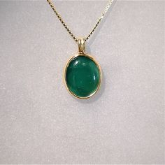 Green Agate Pendant Necklace, Sterling Silver Gold Pendant and Chain Green Agate, Natural Green Agate, Green Agate Jewelry Agate Jewelry, Gemstone Necklace, Pendant Necklace, Green Agate, Birthstone Jewelry, Unique Necklaces, Gold Pendant, Natural Gemstones, Just For You