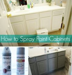 How to Spray Paint Furniture - 10 of the Best Tutorials