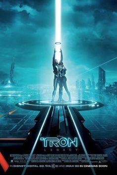 Tron Legacy ~ movie poster