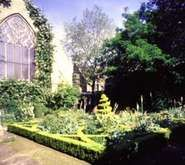 Knot Garden at the Museum of Garden History, London
