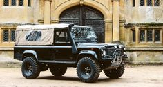 Land Rover Defender 110 Td5 pick-up canvas.
