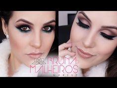 Maquiagem Fácil Festa: Verde e Laranja - YouTube