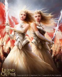 Legend of the Cryptids on Behance | Fantasy art | Pinterest