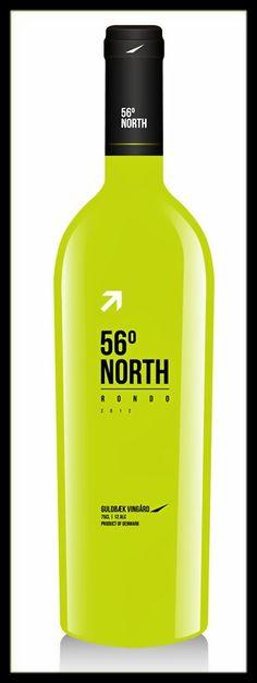 Wine Labels - 56°North (designed by Ricardocacildo) __[99designs.com] #cGreens