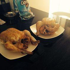 Sunday roast style..