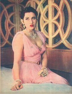 Madhubala in Filmfare of March 14th, 1958.