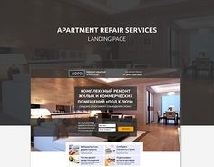 "Check out new work on my @Behance portfolio: ""Landing page_Apartment repair services"" http://be.net/gallery/49893587/Landing-page_Apartment-repair-services"