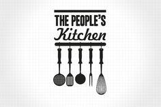 type, logo // The People's Supermarket | Identity Designed