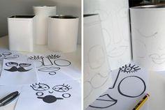 RECICLA TUS LATAS EN RISUEÑAS MACETAS Clay Pots, Flower Power, Diy, Crafts, Craft Ideas, Home Decor, Blog, Handmade Crafts, Recycled Materials