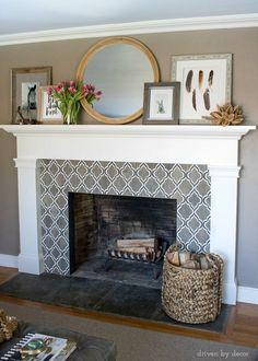 173 best mantels fireplaces images in 2019 faux fireplace faux rh pinterest com
