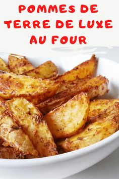 Today, I bring you LUXURY fries, but, to avoid excess . Easy Chicken Recipes, Pasta Recipes, Crockpot Recipes, Dinner Recipes, Healthy Recipes, Health Dinner, Breakfast Potatoes, Recipes From Heaven, 20 Minutes