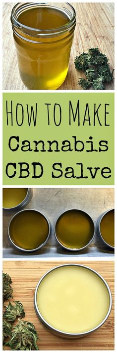 Learn how to make a medicinal topical cannabis cbd salve using infused cbd oil!