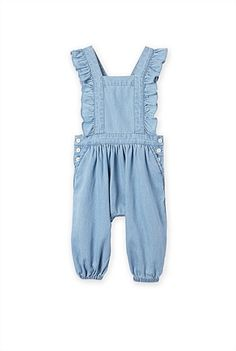 Chambray Romper // Country Road