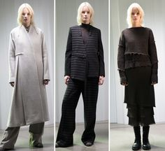 Paris:Serenity and balance dawned in Damir Doma's latest Pre-Fall offering. The designer's work seemed harmoniously linked with his Men's...