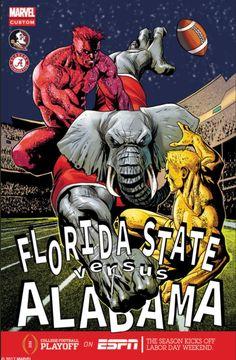 Marvel-styled promo, #1 Alabama vs #3 FSU Greatest Opener Of All-Time #Alabama #RollTide #Bama #BuiltByBama #RTR #CrimsonTide #RammerJammer