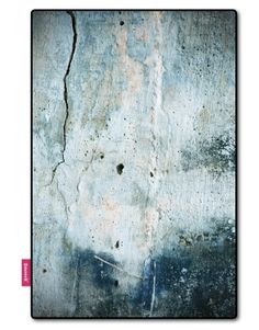 Vloerkleden: #Betonnen #vloerkleed van Smoeck! Home Carpet, Wall Carpet, Blue Abstract Painting, Abstract Landscape, Abstract Paintings, Cracked Marbles, Abstract Images, Paint Finishes, Concrete Floors