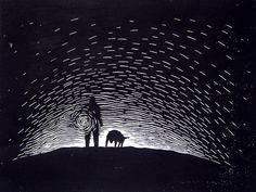 untitled lino-cut.... | by hero artist, Jason Needham