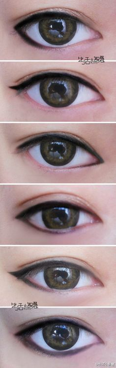 Different ways to do eyeliner